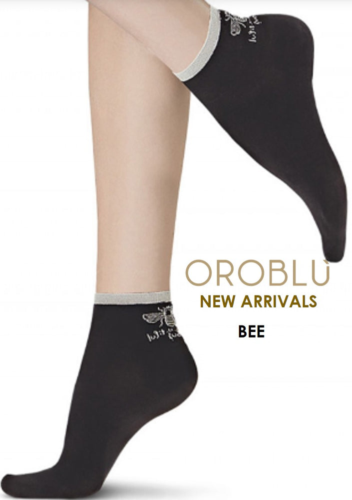 Oroblu BEE Womens Socks (Cotton with a FUN Look)