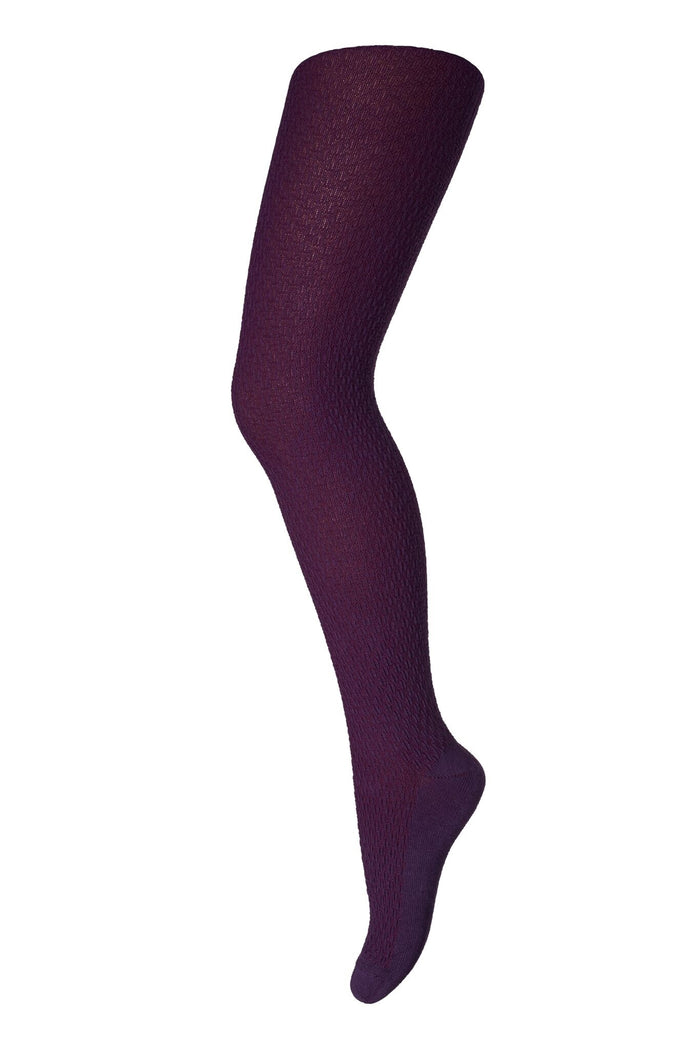 MP Denmark Childrens Bella  Mustard, Burgandy and Grey  Wool Tights- Starts with Legs