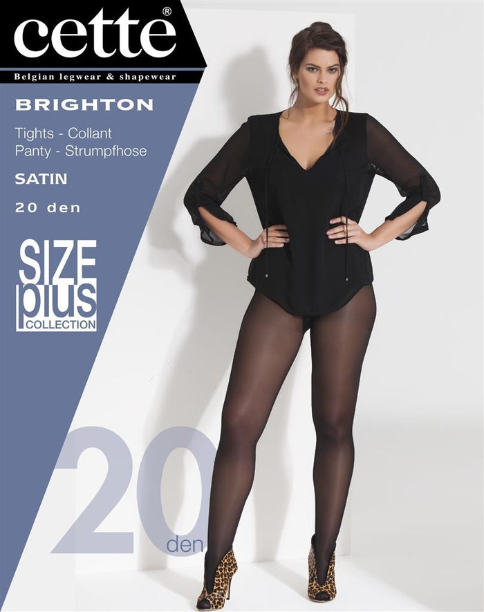 Cette Hosiery Brighton Pantyhose/Tights (Plus Size) blue, black and Tendresse - Starts with Legs