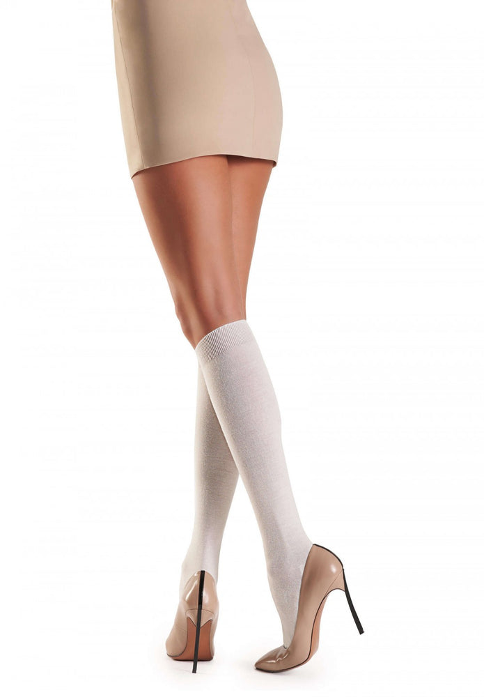 Oroblu BRITTANY Womens Knee High Socks (Fine Wool)