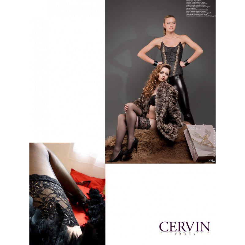 <transcy>Cervin SENSUAL Stay Ups / Hold Ups talla grande disponible</transcy>