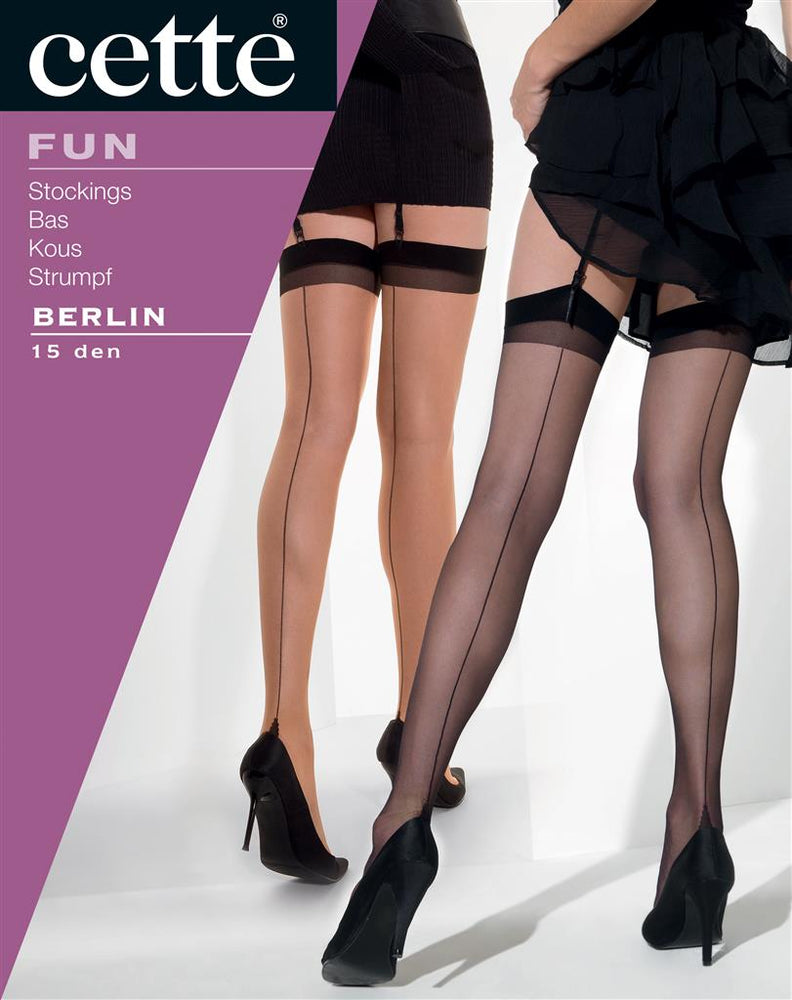 Cette BERLIN Stockings (Premium Belgium Hosiery)