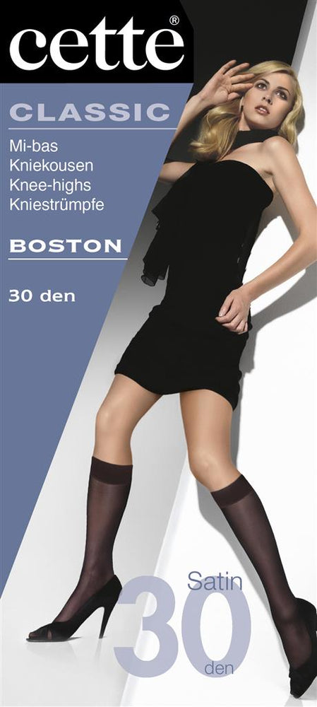 Cette BOSTON Knee Highs (Premium Belgium Hosiery)