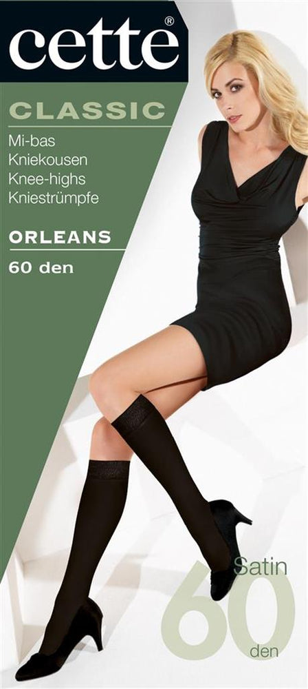 Cette ORLEANS Knee High Stockings (Premium Belgium Hosiery)