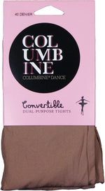 Columbine  40 DENIER DANCE/BALLET CONVERTIBLE Tights