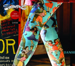 Marie Antoilette DANSE Printed Tights (Rock and Roll!!)