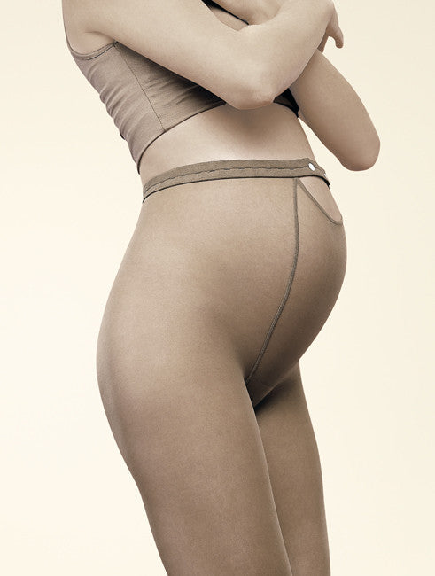 Gerbe French Hosiery Maternity Pantyhose/Tights Duo 20 Denier - Starts with Legs