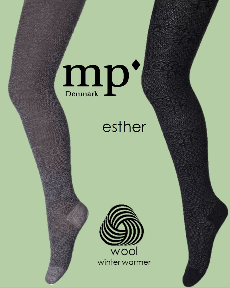 MP Denmark Children ESTHER WOOL Tights (Classic Unique Wool Pattern) 39010
