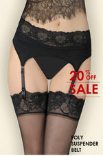 Gerbe FOLY Suspender Belt (Smart and Dainty Lace)