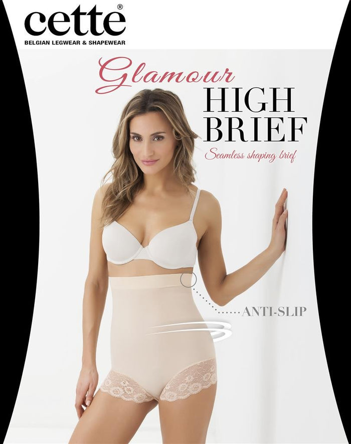 Glamour High Brief- Cette Shapewear and Starts with Legs
