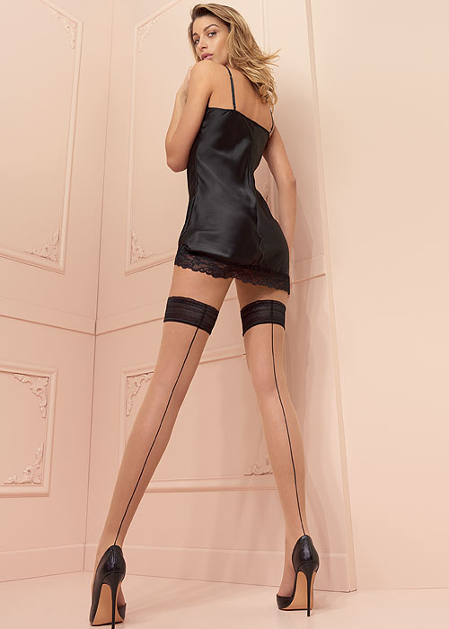 <transcy>Trasparenze JESSY Stay Ups / Hold Ups (Moda italiana)</transcy>