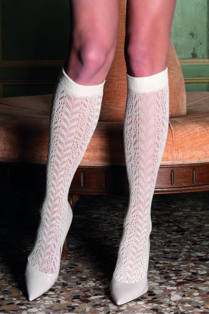 Trasparenze KRAKEN Gambaletto Cotton Knee Highs (Refined and Classic Look)