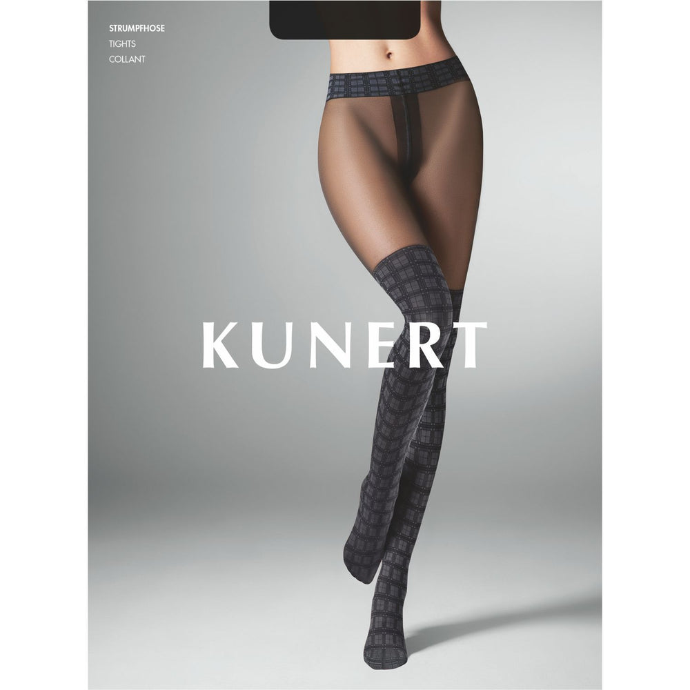 Kunert GLENCHECK Pantyhose/Tights (Stay Up Optic) 367210