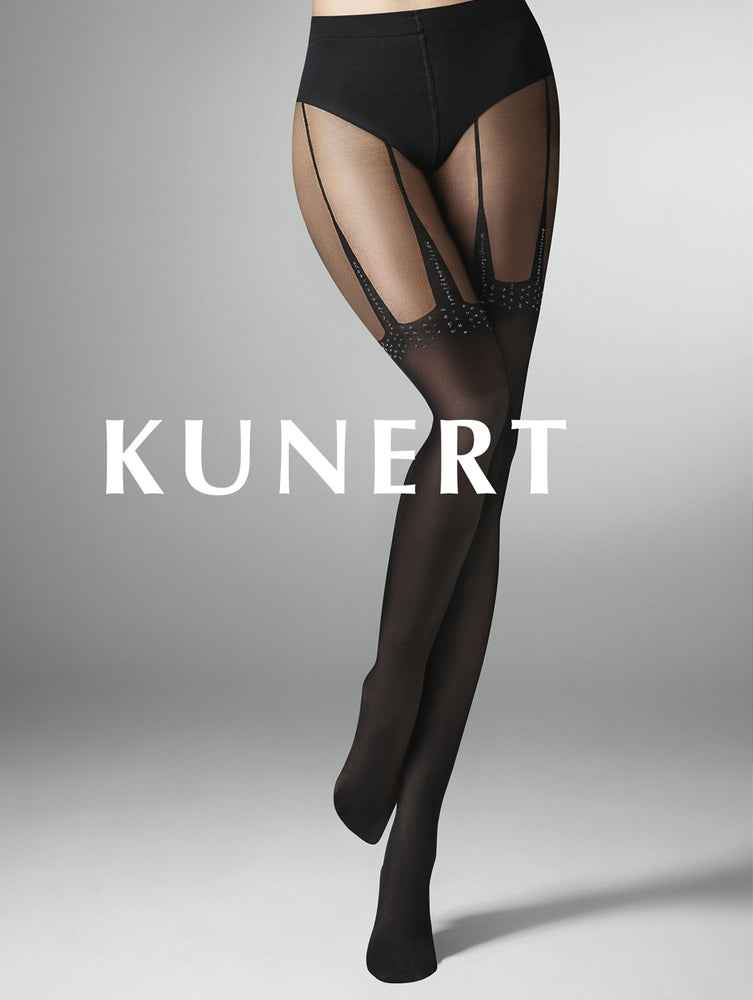 Kunert STAR Pantyhose/Tights (Lurex Detail & Overknee Optics) 367810