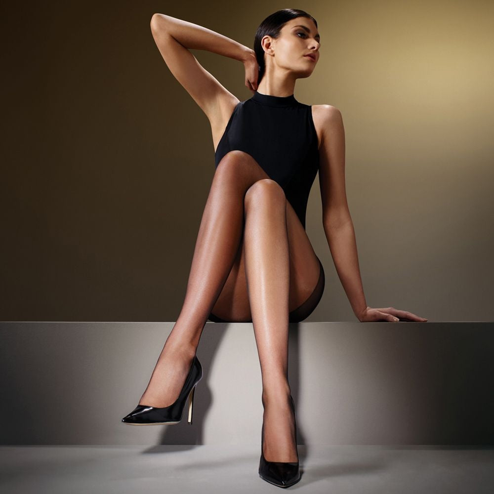 Levante  Lia 10 Denier Sheer Nylon Pantyhose/Tights Italian Hosiery - Starts with Legs