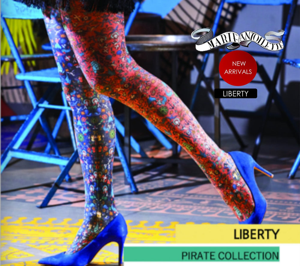 Marie Antoilette LIBERTY Printed Tights (Exclusive French Collection)