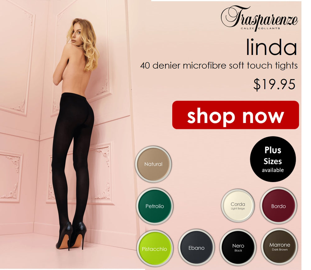 Trasparenze LINDA  40 den Pantyhose/Tights (Huge Choice of Colours including natural)