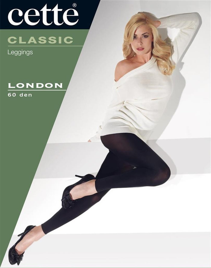 London Rainbow of Colours Opaque Leggings  - Cette Hosiery and Starts with Legs