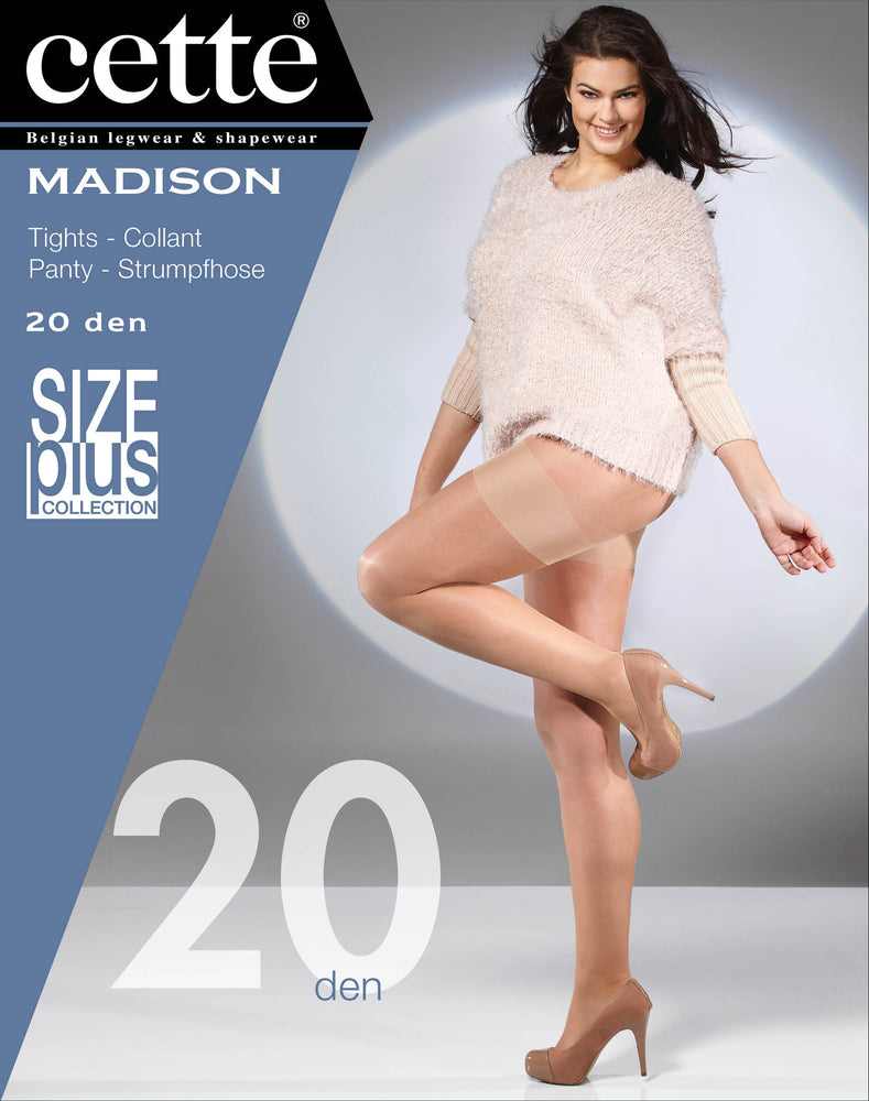 Cette MADISON Plus Size Pantyhose/Tights (Premium Belgium Hosiery)