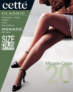 Monaco Pantyhose/Tights (Plus Size) - Cette Hosiery