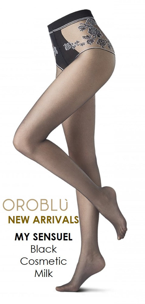 Oroblu MY SENSUEL 20 DENIER Pantyhose/Tights (Floral Decorations)