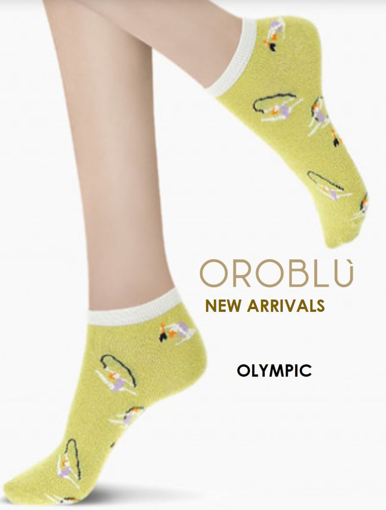 Oroblu OLYMPIC Womens Socks (Bright, Fun and Positive Look)