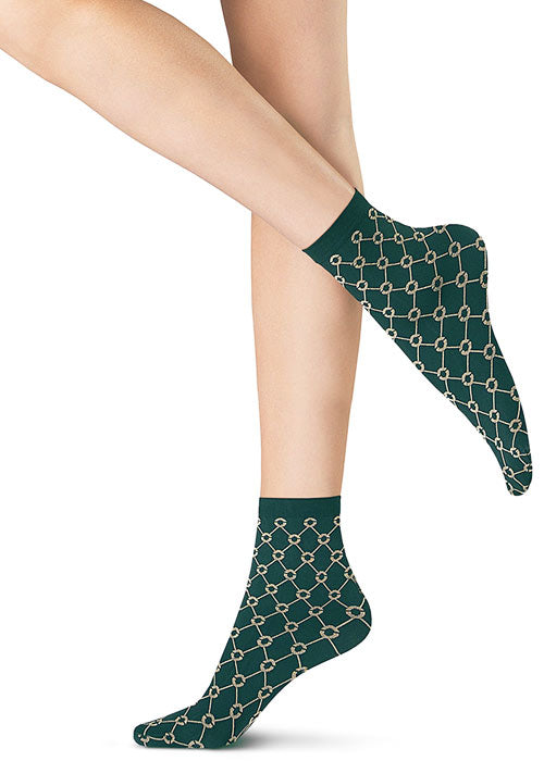 Oroblu GRAPHIC FULL HUB Womens Socks (Street Cred Fashion)