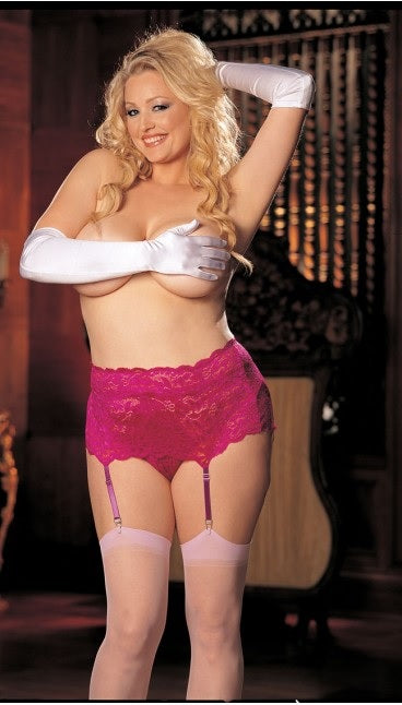 Intimate Atittudes PLUS SIZE Suspender Belt