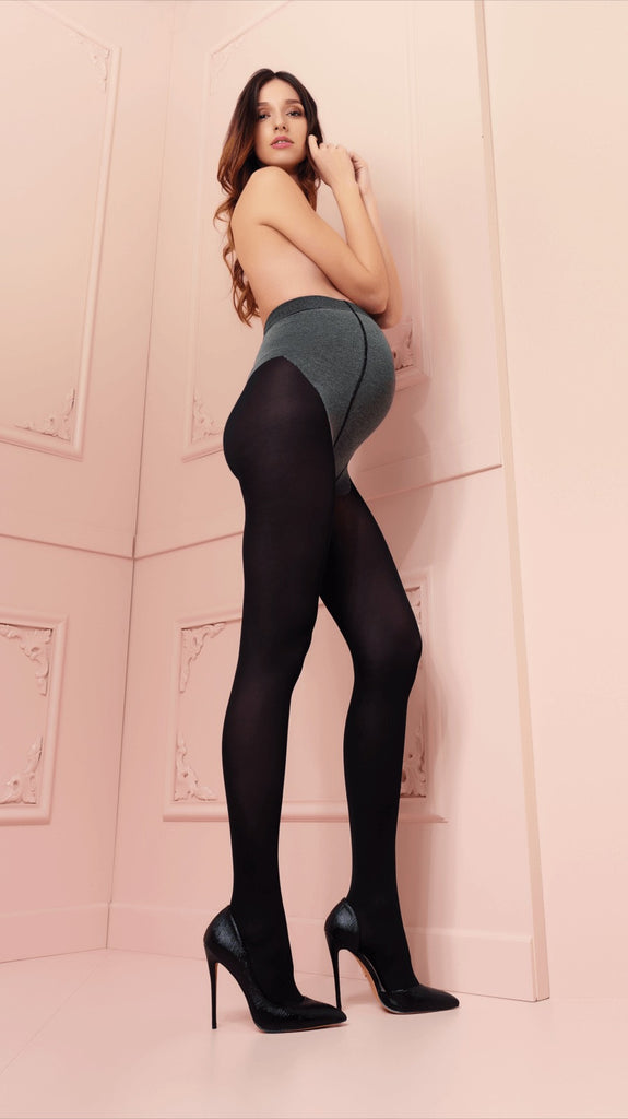 Maternity Tights Sophie Per Due 70 Denier - Trasparenze Hosiery