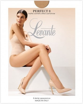 Perfect 8 Matt cosmetic effect  Pantyhose/Tights - Levante Hosiery