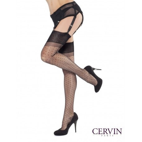 Cervin CAPRI PLUMETIS Stockings (Classical Vintage Look)