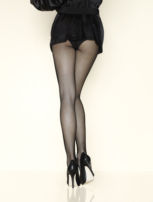 Resille Fine Fishnet Pantyhose/Tights - Gerbe Hosiery