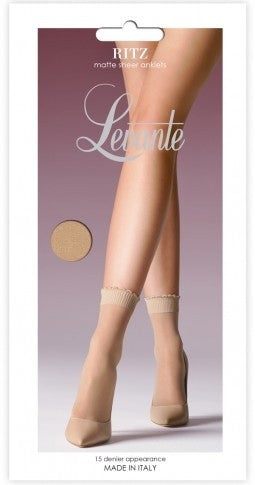 Ankle Socks Ritz- Levante Hosiery and Starts with Legs