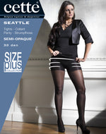 Cette Shapewear SEATTLE Plus Size Pantyhose/Tights
