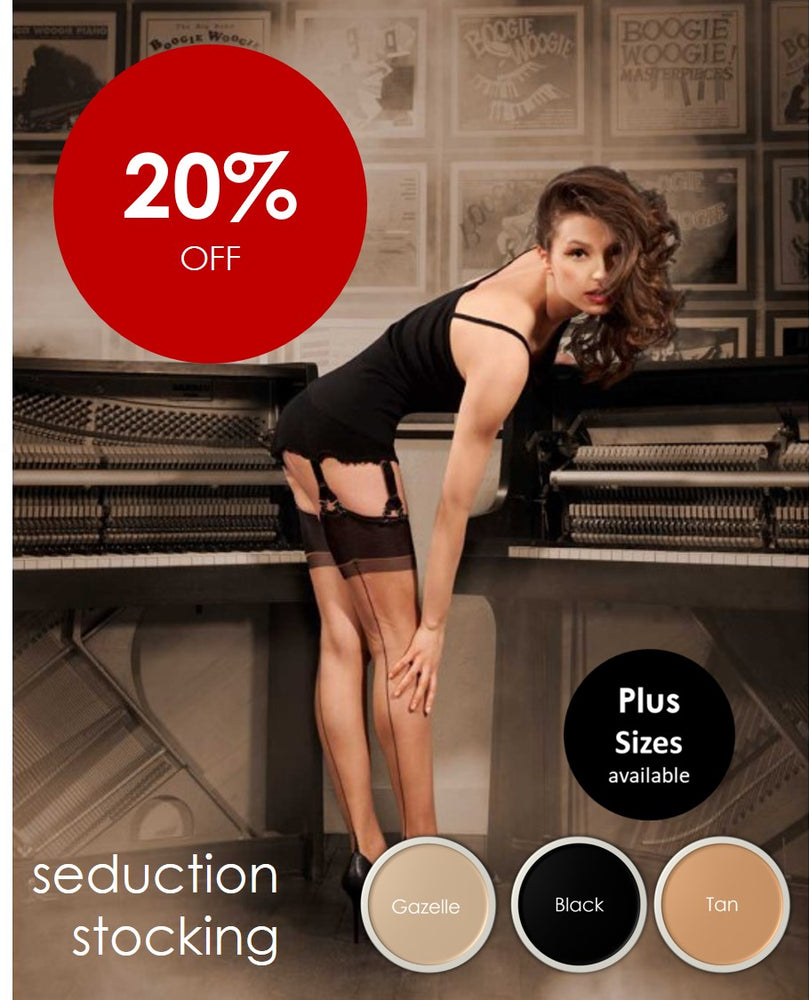 Cervin SEDUCTION SEAMED Stockings (Authentic Seduction)