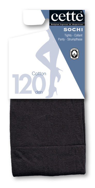 Cette SOCHI Cotton Pantyhose/Tights (Plus Size Available) Chic Colour Range