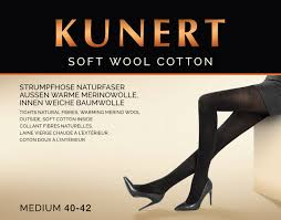 Kunert SOFT WOOL/COTTON Pantyhose/Tights (Warm, Cosy, Quality) 399200