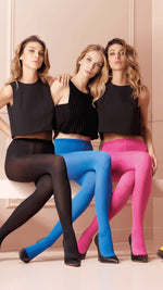 Transparenze SOPHIE COLOURED Tights (Extra Large to Maxi) HUGE RANGE OF COLOURS !!