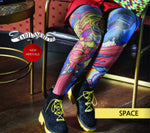Marie Antoilette SPACE Printed Tights (Exclusive French Collection)
