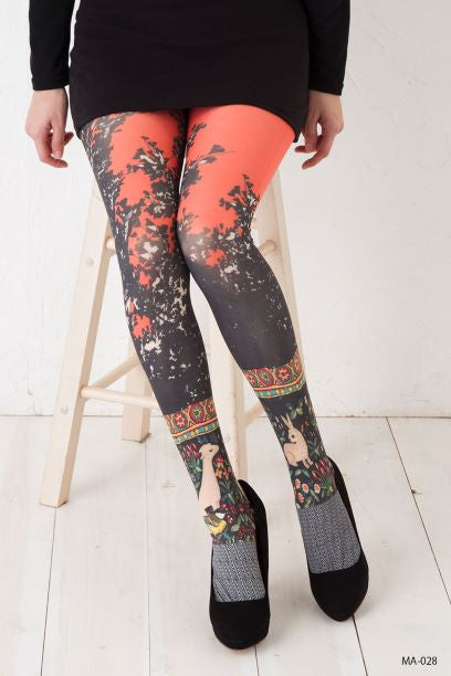 Marie Antoilette STELLA Printed Socks (Unique One Of A Kind)