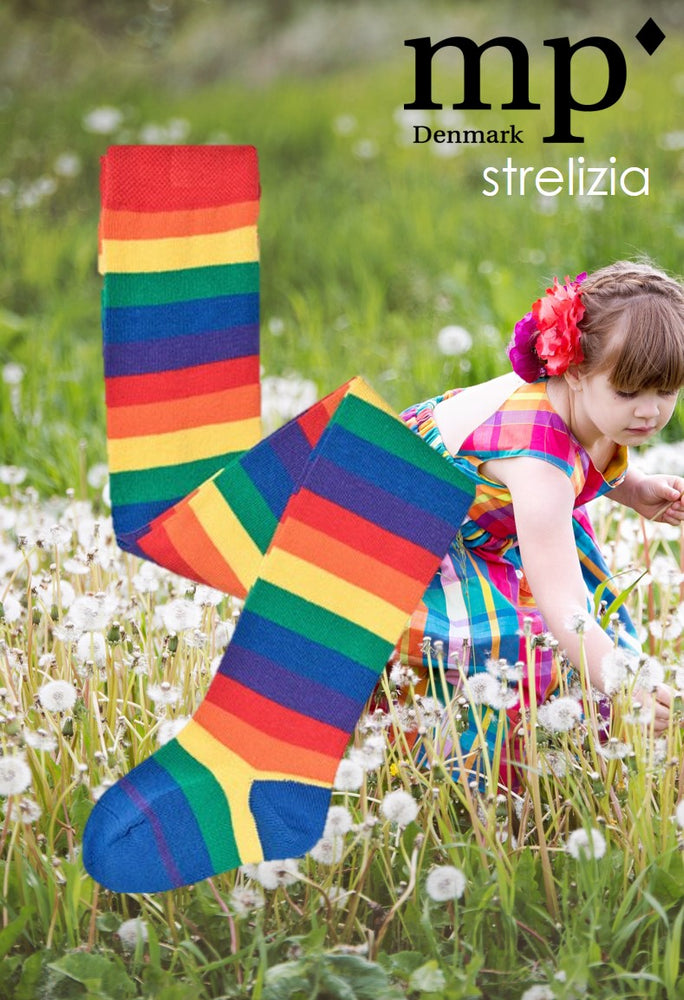 MP Denmark Childrens STRELIZIA COTTON Tights (Rainbow Fashion!!) 37061