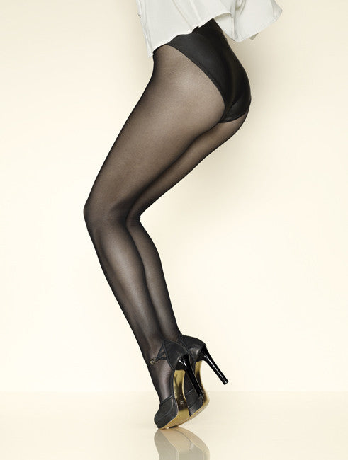 Gerbe SUN SATIN 15 Pantyhose/Tights (Classy with Lovely Soft Texture)