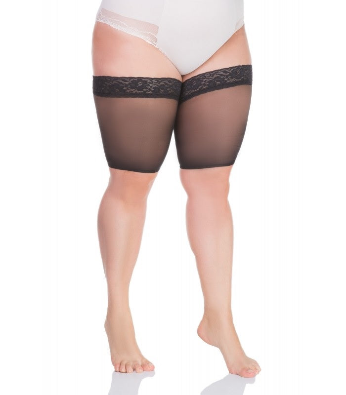 Lida Plus Size Thigh Protector Lace Antichafing (102)