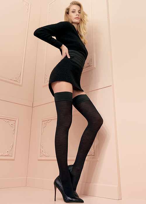 Trasparenze JENNIFER WOOL Stay ups/Hold Ups (Italian Fashion)