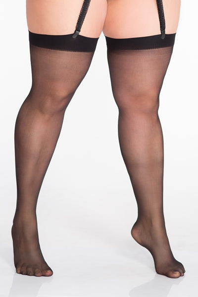 Lida Plus Size Suspender Stockings (132)