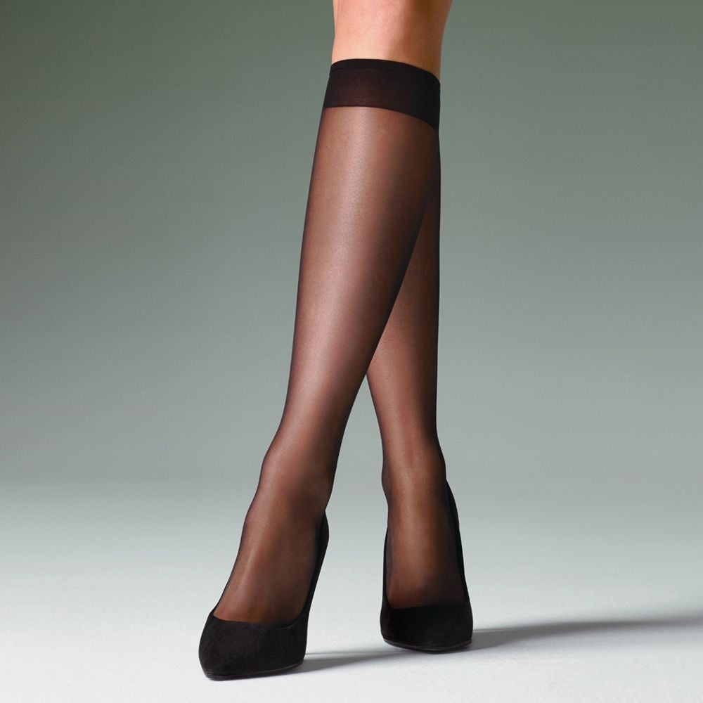 Levante  KNEE HIGHS Class Gloss leg look Italian Hosiery- Starts with Legs