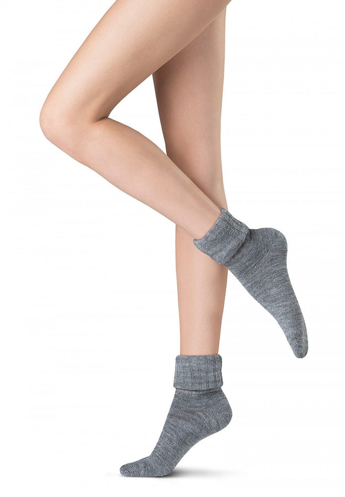 Oroblu SOFTLY FINE SEASON WOOL  Socks (Italian Hosiery)