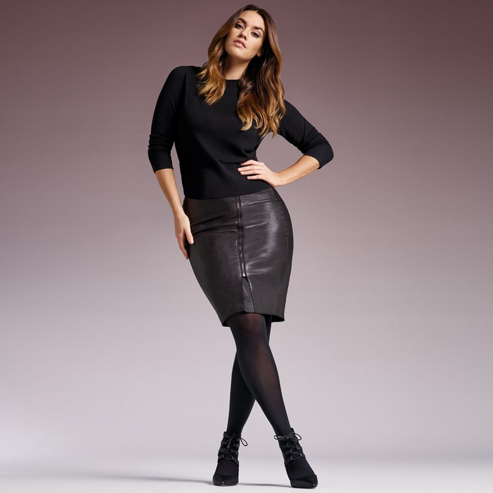 Levante EXTRA 50 DENIER (Plus Size) Fuller Figure Tights