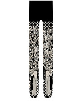 Marie Antoilette FESTIVAL Printed Tights (Luxury French Hosiery)