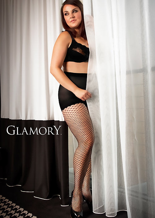 Glamory MESH Tight Plus Size (Fishnet Sophistication)50351